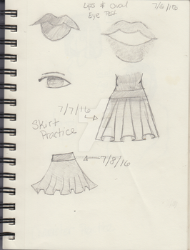 Lips, Eyes, and Skirts by FancyStories
