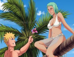 NaruFuu: A Exotic Flower for an Exotic Beauty by JuPMod