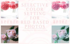 Vintage Selective Color-RED by illusionality