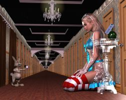 Alice in Wonderland - Drink Me by DevilishlyCreative