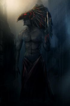 Horus by merl1ncz