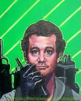 Bill Murray Ghostbusters by asamamoru