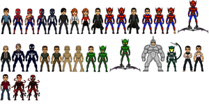 spider-man micros by uchiha1210