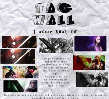 Tag Wall de mi regreso LUL by darkinaruto