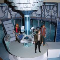 TARDIS Set another angle by MisterBill82