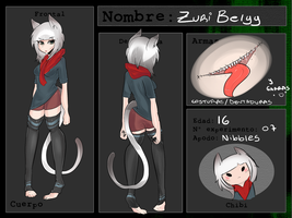 TC Ficha - Zuri Belyy / Nibbles by StrawBerry4Tsuki