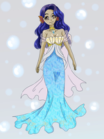 Queen Of the Ocean Adopt: Auction closed by Teafairyadopts