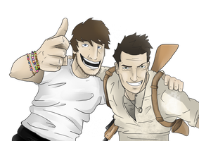 Me and Nate - Uncharted by MatthewHogben