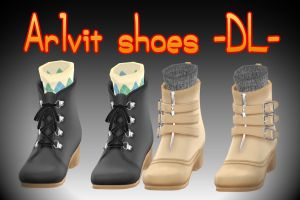 Sep-Series - Arlvit shoes - DL - by TehPuroisen