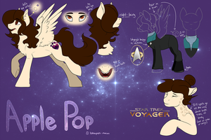 Apple Pop Ref Sheet v3 by Kobayashi-Maruu