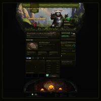 Template for Warcry CMS   PWS MoP Style by LoomarNet