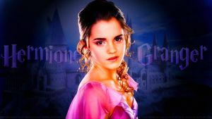 Emma Watson Hermione  V by Dave-Daring