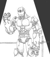 Warforged Fighter, Lord-Cabby by EberronFanArt