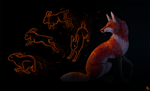 year of the hare by Poriina