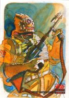 Bossk by markmchaley