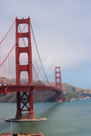 Golden Gate Bridge from SF by webdaemon