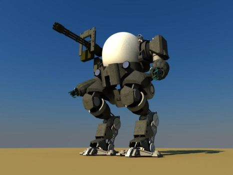 Mech 22 - 3D Finished by sergiobordon