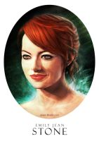 Emma Stone by Saver-Blade