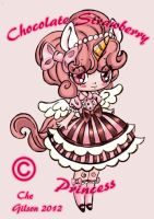 Chocolate Strawberry Princess by spiderliing666