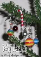 Tiny Brites - Ornaments 4 ears by nekojindesigns