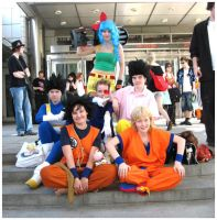 Group Dragonball Z Cosplay by Chichicken