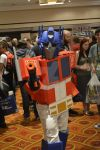 Optimus Prime at Auto Assembly 2014 by Atreius-Lux