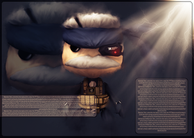 Little Big planet MGS4 by Job-for-a-Cowboy069
