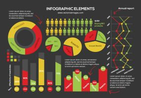 Free Vector Infographic Elements by AlsusArt