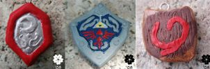 Sheild charms by CaptainMorwen