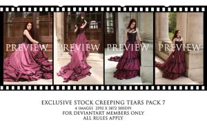 Creeping Tears pack 7 by Elandria