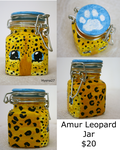 Amur Leopard Jar for sale by Hyena27