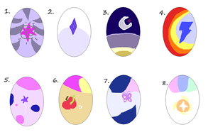 twilight sparkle X ??? shipping egg adopts 1 left by Deep-Fried-Love