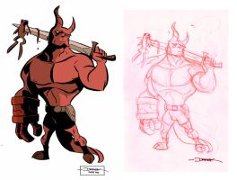 Hellboy Collab by ryancody