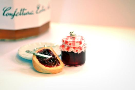 Bread and Jam Earrings by Alusaf