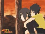 HCB:sasuke and itachi kids by annria2002