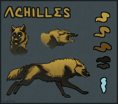 Achilles Ref for WrayWolf by Owlheart