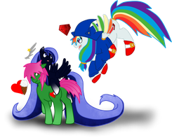 Pony, Pegasi and Alicorn? by SoulEevee99