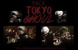 Tokyo Ghoul |Pack by IsaPrisonerEditions