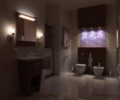 Bathroom Mosaic by Overstone