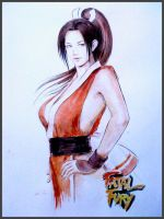 Fatal Fury Girl - Mai by rubiocroft