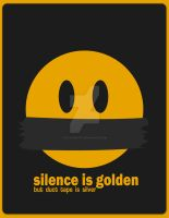 Silence is Golden by ex-astris1701