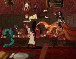 A peculiar kind of dinner by Ailovc