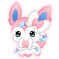 Chibi Sylveon by Sunshineshiny