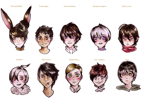 Male-ocs by Accyber