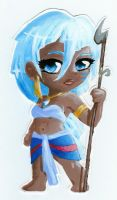 Princess Kida chibi by crazycat-artist