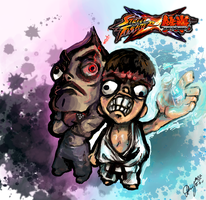 Street Fighter X Tekken by Marto