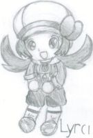 Chibi Lyra - Traditional by 789lol
