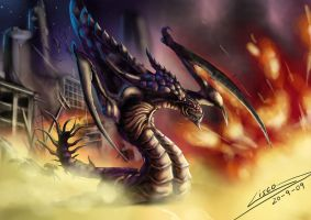 Hydralisk raid by Dragolisco