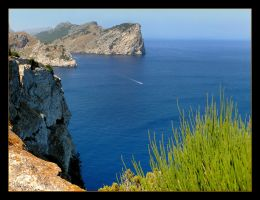 Cliffs Of Mallorca - 2 by skarzynscy