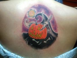 Nightmare back tat~ complete by xXRoanXx